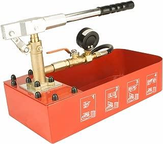 Steel Dragon Tools RP-30 Hydraulic Manual Pressure Test Pump 726 PSI 2 Gallon Tank 1/4