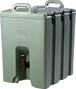 Carlisle LD1000N59 Cateraide Insulated Beverage Server/Dispenser, 10 Gallon, Slate Blue