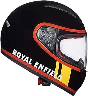 Royal Enfield Gloss Black Full Face With Visor Helmet Size (M)58 CM (RRGHEJ000016)