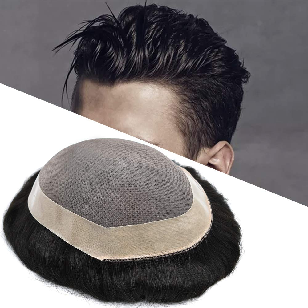LYRICAL HAIR Toupee For Men Human Latest Cheap sale item System Fine Durable Mono Hair
