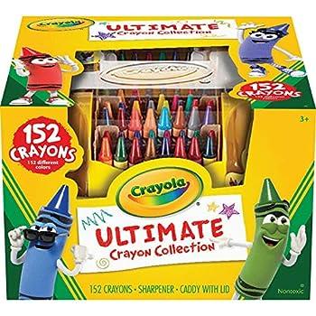Crayola Ultimate Crayon Case Sharpener Caddy 152 Colors