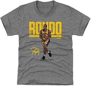 500 LEVEL Rajon Rondo Los Angeles Basketball Kids Shirt - Rajon Rondo Hyper