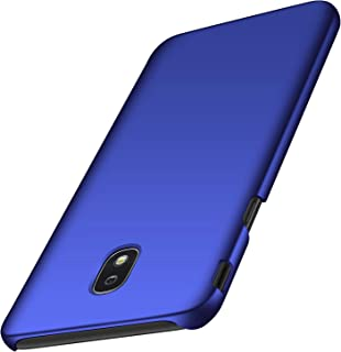Galaxy J7 2018 Case, Galaxy J7 V 2nd Gen Case,Galaxy J7 Refine Case,J7 Aero case, Almiao [Ultra-Thin] Minimalist Slim Protective Phone Case Back Cover for Samsung Galaxy J7 2018 (Smooth Blue)