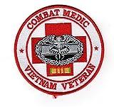 Combat Medic Vietnam Veteran Patch