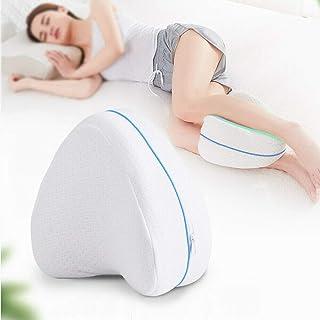 NANNAN Almohada ergonómica de Apoyo para Las piernas, Almohada de Descanso para Rodillas y piernas, Almohada para Mujer Embarazada, Almohada para Dormir con Las piernas al Lado (2)