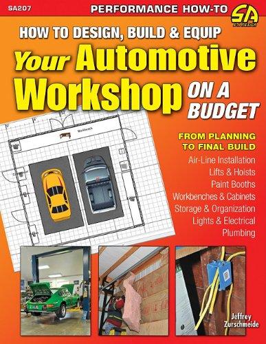 How to Design, Build & Equip Your Automotive Workshop on a Budget (S-A Design)