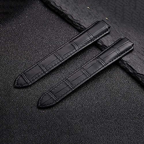 Keai mannen en vrouwen universeel met vlindergesp kalf huid armband voor cartier horloge lederen armband