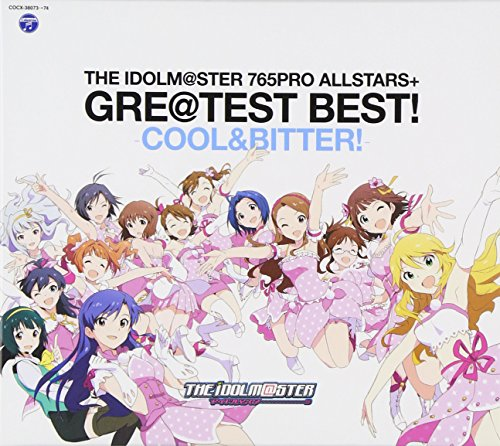 THE IDOLM@STER 765PRO ALLSTARS+ GRE@TEST BEST! -COOL&BITTER!-