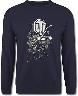 Spreadshirt World of Tanks Bat.-Châtillon 25 t Sweat-Shirt Unisexe