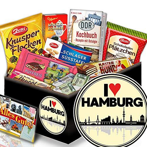 I love Hamburg - Geschenkbox I love Hamburg - Schoko DDR Geschenk Set