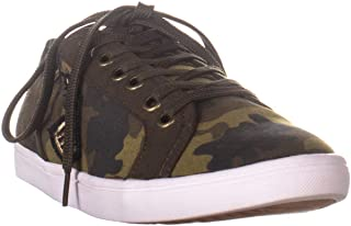 AR35 Melina2 Low Top Lace Up Sneakers, Green Camo