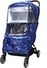 Wonder buggy Universal Stroller Weather Shield Rain Cover with Bubble,Waterproof, Windproof Protection, Travel-Friendly, Outdoor Use, Easy to Install and Remove (Blue)