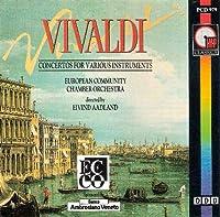 Concerto RV 428 per flauto op 10 n.3 Il gardellino Estro armonico op 3 (1711) n.6 RV 356 in la Concerto RV 444 per piccolo n.5 in DO Concerto RV 93 per chitarra n.15 Concerto RV 413 per cello archi e cembalo in SOL
