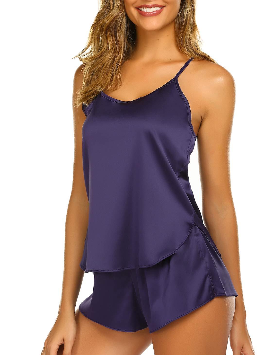 Ekouaer Sleepwear Lingerie Pajamas Nightwear