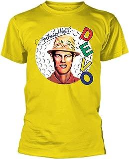 Devo 'are We Not Men?' (Yellow) T-Shirt