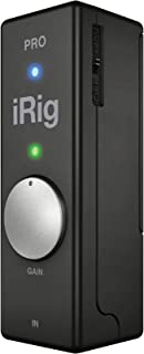 IRIG PRO UNIVERSAL AUDIO/MIDI INTERFACE FOR IOS DEVICES AND MACS
