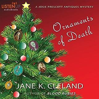 Ornaments of Death: A Josie Prescott Antiques Mystery audiobook cover art