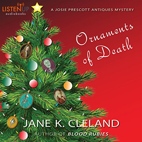 Ornaments of Death: A Josie Prescott Antiques Mystery audiobook cover art