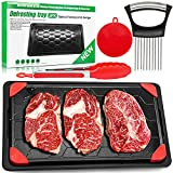 Defrosting Tray for Frozen Meat, Defrosting Plate for Meat Large Size...