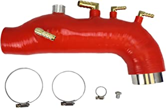 Rev9(SH-003-RED-C) Silicone Turbo Inlet, Red, for Subaru Forester XT 2009-13 EJ25 Motor