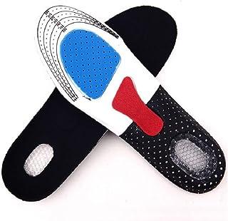 SKREOJF Coussinets d'insertion de pied légers à la mode pour hommes Sport masculin en cours d'exécution Semelles respirant...