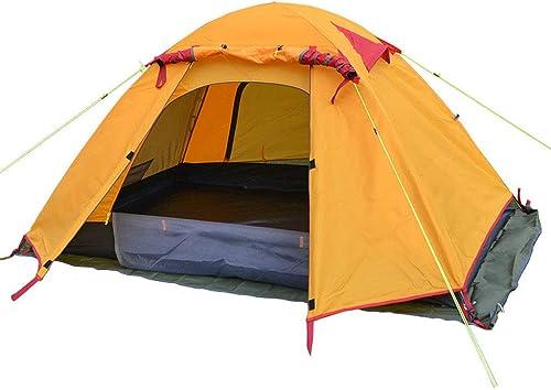 Fulitanghuang Tente Gonflable de Plein AIR, Tente de Famille pour Camper, Tente d'air pour 2 Personnes, InsTailletion instantanée Moins de 3 Minutes