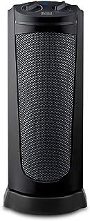 Black+Decker BXSH2002E Calefactor cerámico, 2000 W, Plastico, Negro