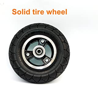 200x50 Electric Scooter Solid Wheel No Air 8 Inch Scooter Wheel with Solid Tire Alloy Hub 8