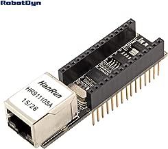 RobotDyn - Nano V3 Ethernet Network Shield - ENC28J60 Module for use with Arduino Nano, Nano v3 Ethernet Shield for Arduino Nano (ENC28J60), Nano v3 Ethernet Shield for Arduino Ethernet Shield