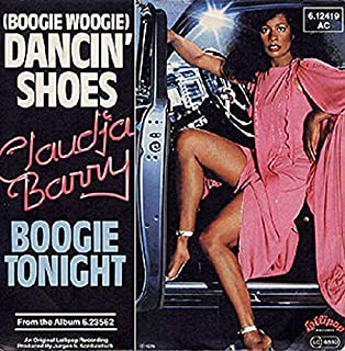 Claudja Barry - (Boogie Woogie) Dancin' Shoes / Boogie Tonight - Lollipop Records - 6.12 419
