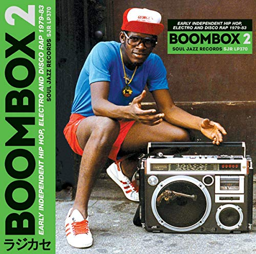 Boombox 2: Early Independent Hip Hop, Electro And Disco Rap 1979-83 (3LP + D.Code) [Vinyl LP]