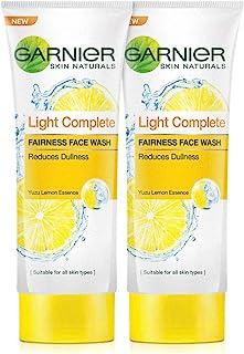 Garnier Garnier Skin Naturals Light Complete Facewash, 100g (Pack Of 2), 100 ml (Pack of 2)