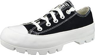 Converse CTAS Lugged Ox Chaussures DE Sport pour Femme Noir 567681C
