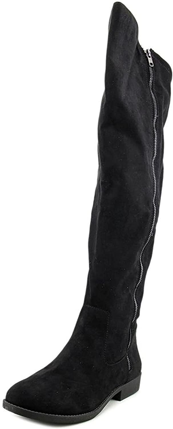 Style Co. Womens Hadleyy Closed Rapid rise 5 ☆ popular Fashion Knee Boots Toe Over