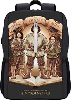 Etryrt Zaino con Coulisse,Borse Sacca,Sacchetto Jack Skellington And Sally Corpse Bride Drawstring Backpack for Men//Women
