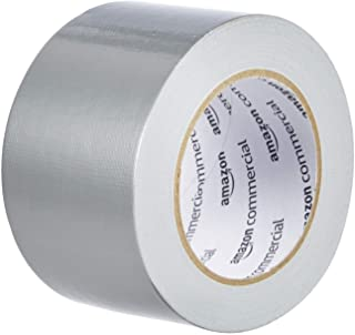 AmazonCommercial Light to Medium Strength Duct Tape, 2.88-inch by 30-Yard, Silver, 3-Pack