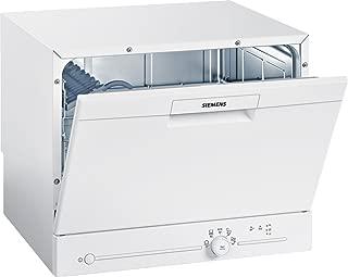Siemens 西门子 SK25E203EU iQ100 SpeedMatic紧凑型洗碗机/A+/6 MGD/dosierAssistent/超静音/iQdrive发动机/负荷传感器/白色