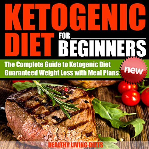 Ketogenic Diet for Beginners audiobook cover art