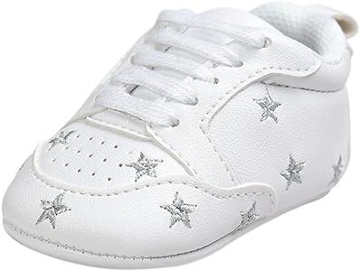 SwitchaliZapatos de bebé, Switchali Zapatos Bebe niña Primeros Pasos Verano Recién Nacido Niñas Cuna Suela Blanda Antideslizante Zapatillas niño Vestir Casual Calzado de Deportes
