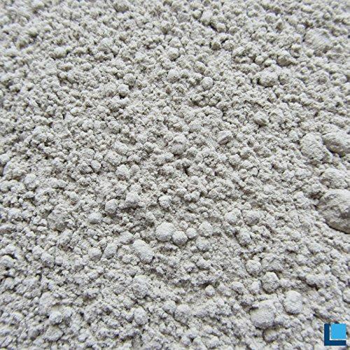 Bentonit Plus 50 Pulver 1kg in hervorragender Reinheit mit extrem hohem Gehalt an aktivem mineralischem Montmorillonit 85-95%
