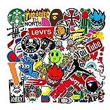 KSFZ Pegatinas, 101PCS Paquete de Pegatinas, Pegatinas Decorativas VSCO Stickers PVC Vinals para Coche, Bicicleta, Moto, Equipaje, Portátil, Dormitorio, Funda de Viaje, Impermeable (Colorful)