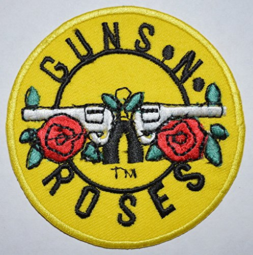 Guns N Roses - Patch Bullet Logo (in 10 cm x 9 cm) by Unknown