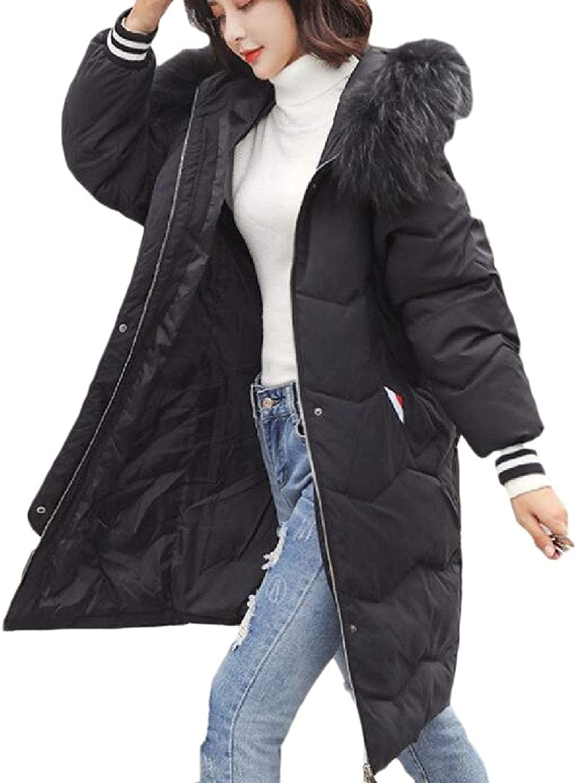 Desolateness Women's Long Sleeves Fashion Jacket Plus Szie Packable Hoode Jackets