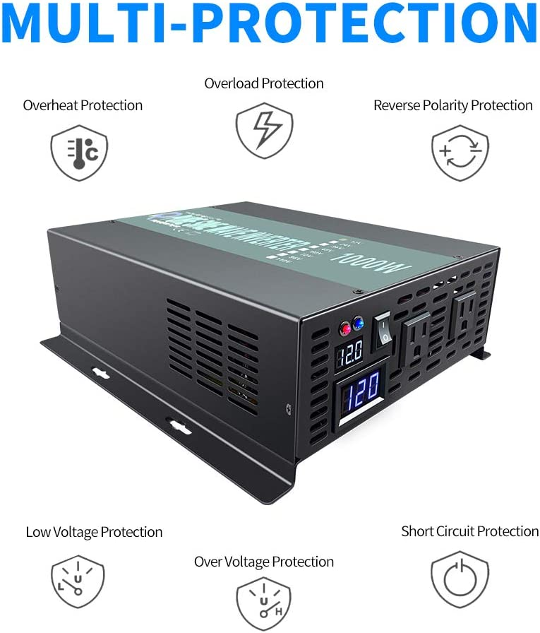 thegymyarraville.com.au Power Inverters Power & Electrical 1500W ...