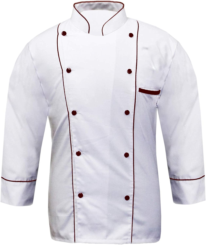 Leorenzo Creation Max 41% OFF PP-77 Men's White Chef Luxury goods Coat Severa Jacket