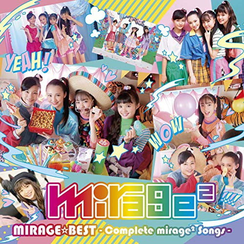 [album]MIRAGE☆BEST ~Complete mirage2 Songs~ – mirage2[FLAC + MP3]
