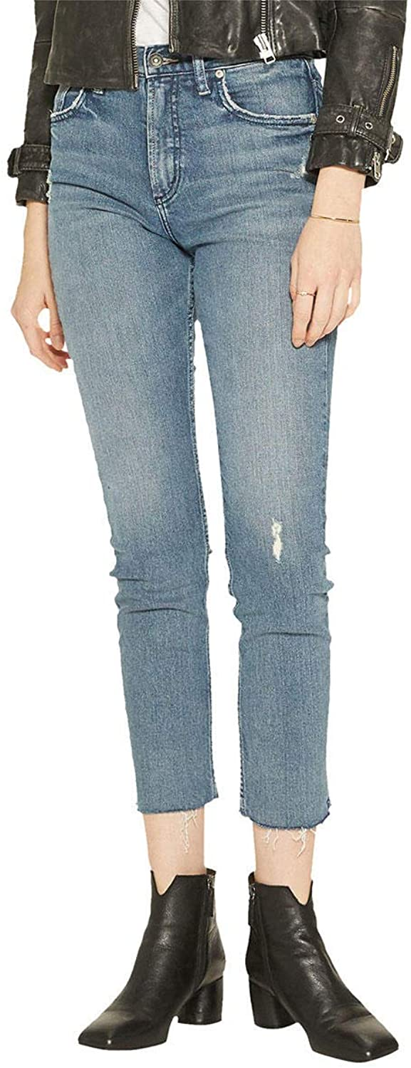 Silver Jeans Co. Womens Standard Frisco Vintage High Rise Straight Leg Jeans