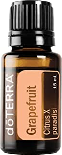 doTERRA - Grapefruit Essential Oil - Improves The Appearance of Blemishes, Supports Healthy Metabolism, Uplifts Mood; for Diffusion, Internal, or Topical Use - 15 mL