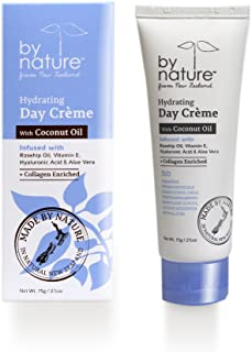 By Nature From New Zealand Hydrating Day Cream w/ Coconut Oil 2.5oz