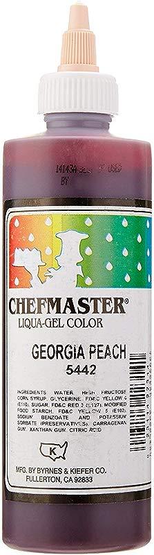 Chefmaster Liqua Gel Colour Georgia Peach 10 5 Ounce